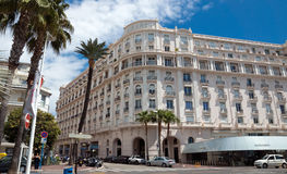 Cannes - hotel Croisette Miramar Stock Image