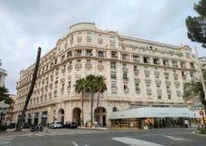 Cannes - Hotel Miramar stock fotografie