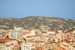 Cannes houses Stock Image