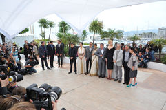 Cannes jury Royaltyfri Fotografi