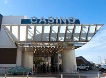Cannes - kasino i slott av festivaler Arkivbild
