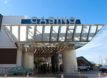 Cannes - kasyno w pałac festiwale Fotografia Stock