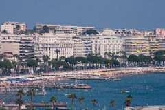 Cannes and La Croisette Stock Photos
