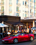Cannes life Royalty Free Stock Images