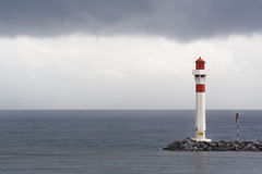 Cannes Lighthouse royalty free stock photography