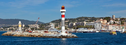 Cannes - Lighthouse Stock Photo