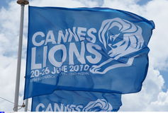 Cannes Lions International Advertising Festival Royalty Free Stock Photos