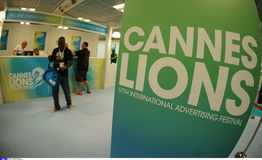 Cannes Lions International Advertising Festival Royalty Free Stock Image