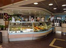 Cannes - loja de gelado Imagem de Stock Royalty Free