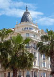 Cannes - luxury hotel Carlton Royalty Free Stock Photo