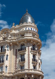 Cannes - luxury hotel Carlton Stock Image