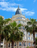 Cannes - luxury hotel Carlton Stock Photography