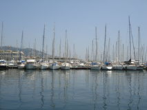 Cannes Marina Royalty Free Stock Photo