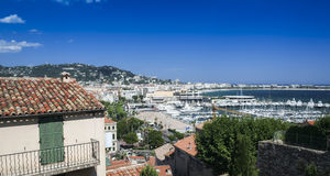 Cannes marina view french riviera Royalty Free Stock Photography