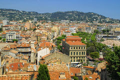 Cannes miasto, Francja obraz stock