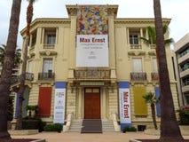 Cannes - musée de Malmaison de La photo libre de droits