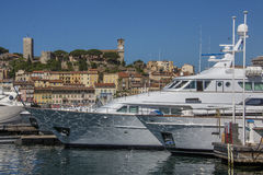 Cannes Old Town and Harbor - French Riviera Stock Photos