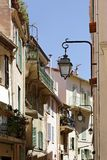 Cannes, old town lane, Cote d'Azur, South of France Stock Photography