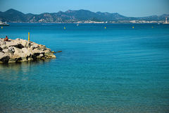 Cannes. Is one of the famous and popular resorts of the côte d'azur Stock Photography