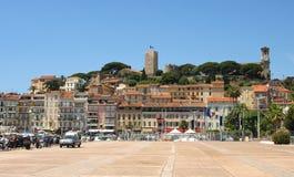 Cannes - Oude stad stock afbeeldingen