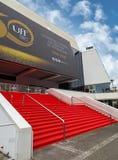 Cannes - palacio del festival de cine Fotografía de archivo libre de regalías