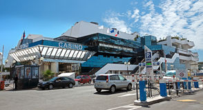 Cannes - Palast von Festivals und von Kongreß Lizenzfreie Stockbilder