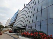 Cannes - palazzo di festival cinematografico fotografia stock