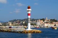 Cannes - phare photographie stock libre de droits