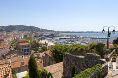 Cannes Port Royalty Free Stock Images