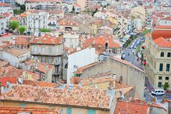 Cannes rooftops Royalty Free Stock Photo
