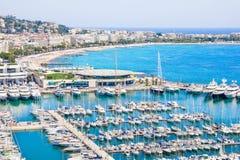 Cannes söder av Frankrike Royaltyfri Bild
