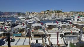 Cannes seglingfestival 12 September 2017 stock video