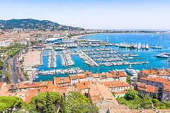 Cannes, south of France Royalty Free Stock Image