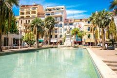 Cannes stad i Frankrike Royaltyfri Bild