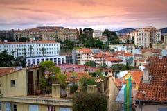 Cannes-Stadtansicht, Frankreich Stockfotografie