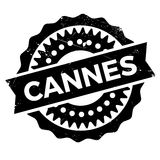 Cannes stamp rubber grunge. Cannes stamp. Grunge design with dust scratches. Effects can be easily removed for a clean, crisp look. Color is easily changed Royalty Free Stock Photography