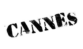 Cannes stamp rubber grunge. Cannes stamp. Grunge design with dust scratches. Effects can be easily removed for a clean, crisp look. Color is easily changed Royalty Free Stock Image