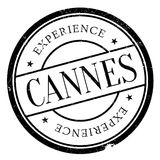 Cannes stamp rubber grunge. Cannes stamp. Grunge design with dust scratches. Effects can be easily removed for a clean, crisp look. Color is easily changed Royalty Free Stock Images