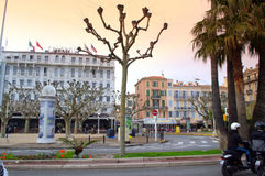 Cannes street view,France Royalty Free Stock Photo