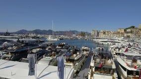 Cannes vela festival 12 de setembro de 2017 video estoque
