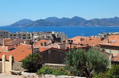 Cannes view Stock Photography