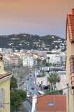 Cannes view,France Royalty Free Stock Photography