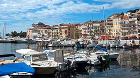 Cannes - View of Le Suquet Royalty Free Stock Images