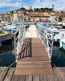 Cannes - View of Le Suquet Royalty Free Stock Image