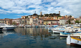 Cannes - View of Le Suquet Royalty Free Stock Photography