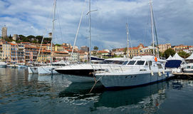 Cannes - View of Le Suquet Stock Photo