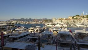 Cannes Yachting Festival 12 September 2017 stock footage