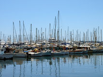 Cannes - Yachts Stock Photography