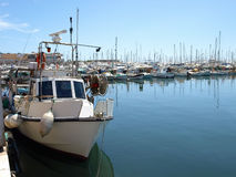 Cannes - Yachts Royalty Free Stock Photography