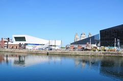 Canning Dock, Liverpool. Royalty Free Stock Image